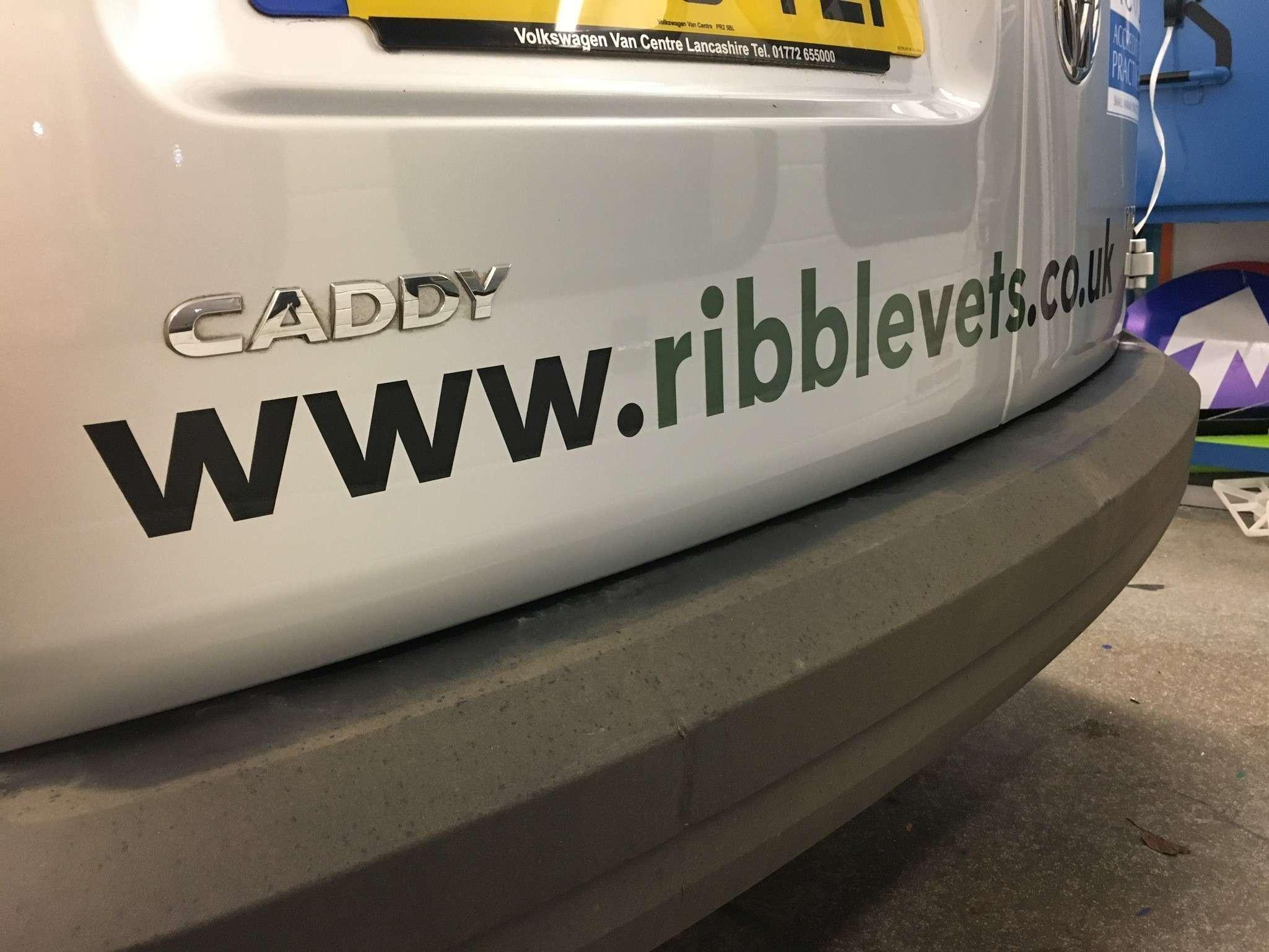caddy van graphics